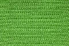 Slut upp bakgrundsmodell av grön textiltextur, textur för modell för abstrakt färgtextil netto Royaltyfria Bilder