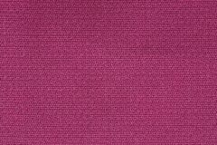 Slut upp bakgrundsmodell av rosa textiltextur, textur för modell för abstrakt färgtextil netto Royaltyfri Bild