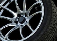 Slut upp bilhjul Royaltyfri Foto