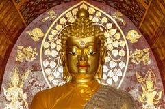Slut upp den buddha bilden Arkivbilder