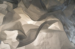 Slut upp den dekorativa lampan för abstrakt bakgrund Arkivbild