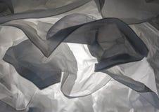 Slut upp den dekorativa lampan för abstrakt bakgrund Krabb pappers- str Arkivfoto