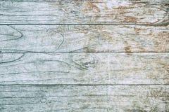 Slut upp den lantliga wood tabellen med korntextur i tappningstil Arkivbilder