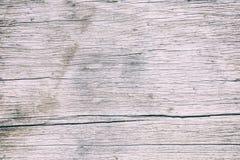 Slut upp den lantliga wood tabellen med korntextur i tappningstil Yttersida av den gamla träplankan i makrobegrepp med den tomma  royaltyfria bilder