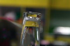 Slut upp exponeringsglas Arkivfoton