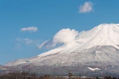Slut upp Fuji arkivfoton