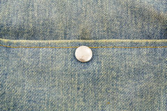 Slut upp jeans med knappen arkivbilder