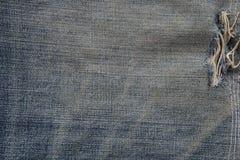 Slut upp jeanstextur Fotografering för Bildbyråer