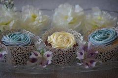 Slut upp muffin Royaltyfri Bild