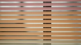Slut upp orange lager för metalldörrslutare lager videofilmer