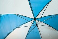 Slut upp paraplyet Arkivfoto