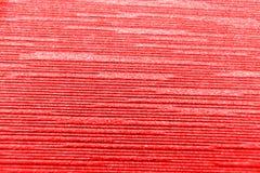 Slut upp röd bakgrund för korrugerat papper Royaltyfri Bild