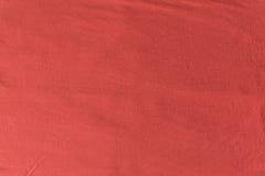 Slut upp röd/rosa tygtextur Bakgrund Royaltyfria Bilder