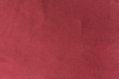 Slut upp röd/rosa tygtextur Bakgrund Royaltyfri Foto