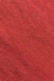 Slut upp röd/rosa tygtextur Bakgrund Royaltyfria Foton