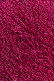 Slut upp rosa färgullbeklädnadtextur Bakgrund Arkivbild