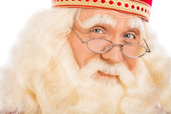 Slut upp Santa Claus Arkivbilder