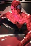 Slut upp Spiderman Arkivbilder