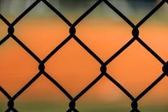 Slut upp staketet för Chain sammanlänkning Royaltyfria Bilder