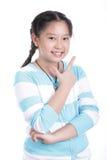 Slut upp studentflicka Royaltyfria Foton