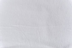 Slut upp vit ullbeklädnadtextur Bakgrund Arkivbilder