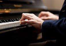 Pianist Arkivfoto