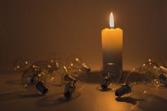 Slutet av eran för ljusa kulor Royaltyfri Fotografi