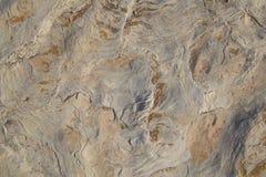 Slutet av invecklad textur av vaggar upp bildande som bakgrund Royaltyfri Fotografi