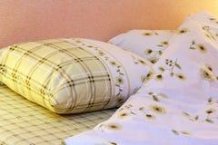 Sängkläder Arkivbild