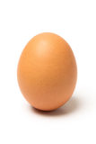Ägg på vitbakgrund Royaltyfri Foto