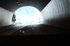 Slutet av tunnelen Fotografering för Bildbyråer