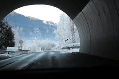 Slutet av tunnelen royaltyfri fotografi