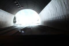 Slutet av tunnelen arkivbilder