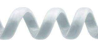 Spiral ringer binder med rep Arkivfoto