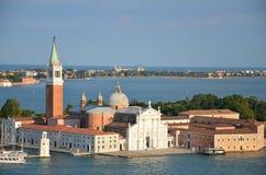 San Giorgio Maggiore - Venedig - Italien Arkivfoton