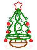 Slutet för jul Tree Royaltyfria Foton