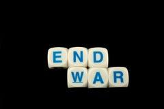 slutet kriger Arkivfoton