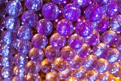 Kristallen fodrar in Arkivfoton