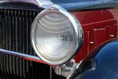 Slutet upp av den Packard singeln åtta 143 - lagerföra bilden Royaltyfri Bild
