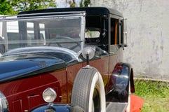 Slutet upp av den Packard singeln åtta 143 - lagerföra bilden Arkivbilder