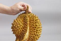 Slutet upp av en Durian Royaltyfria Foton