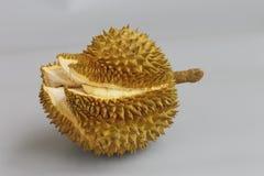 Slutet upp av en Durian Arkivfoto