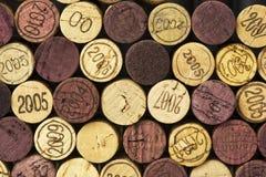 Wine korkar Arkivbilder