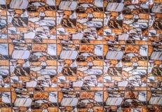 Slutet upp på vaggar marmortexturtegelplattor, abstrakt bakgrund arkivfoton