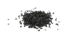 Slutet upp svart hawaiibo saltar isolerat på vit arkivfoton