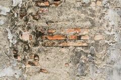 Slutet vaggar upp väggen med bakgrund Arkivfoto