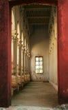 sluthallfönster Royaltyfri Bild