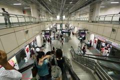 Slutlig Singapore flygplatsSingapore Changi internationell flygplats Fotografering för Bildbyråer