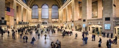 Slutlig storslagen central, New York Arkivbild