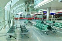 Slutliga 3 av den Dubai flygplatsen Arkivbild